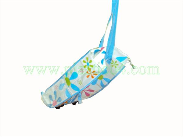 PP Woven foldable Shopping trolley bag - Plastic 04 Corporation