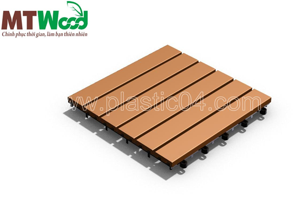 slat Plain WPC Tiles - TH6S0 - Plastic 04 Corporation
